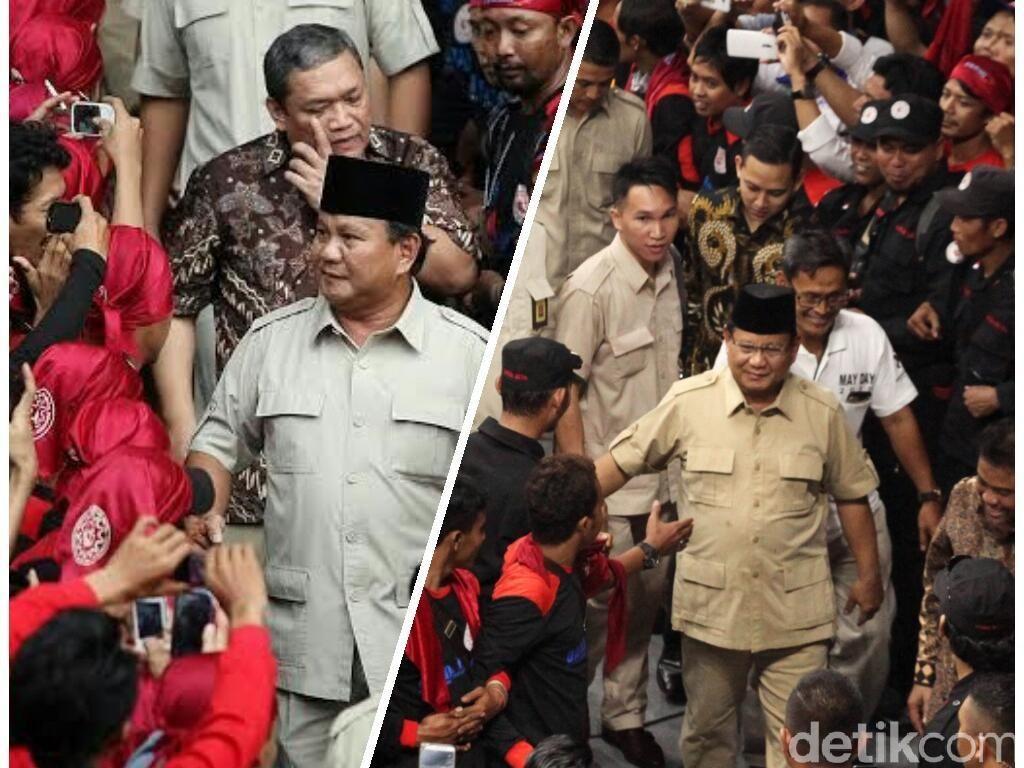 Deja Vu Dukungan KSPI ke Prabowo di Pilpres 2014 dan 2019