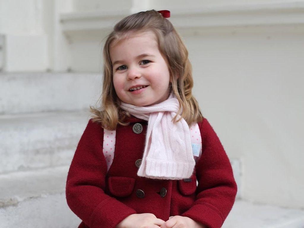 Perkembangan Anak Usia 3 Tahun Seperti Putri Charlotte