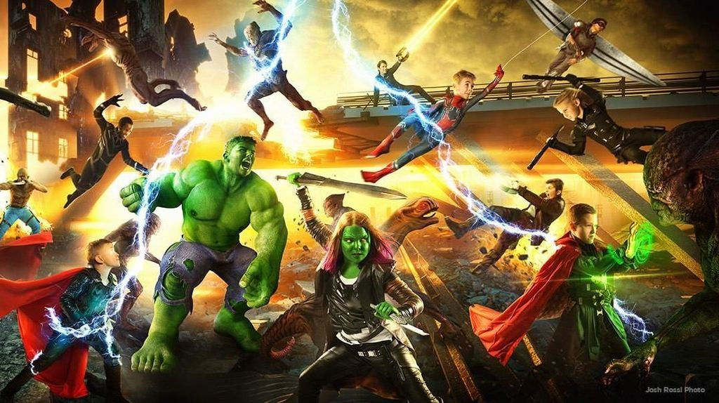 Menyentuh! Ketika Anak Korban Bully Jadi Superhero Avengers