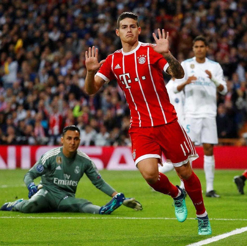 James Rodriguez Tetap di Bayern Munich