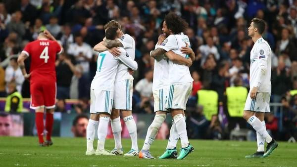 Sudah Kalahkan Tiga Raksasa, Madrid Tinggal Tunggu Lawan di Final