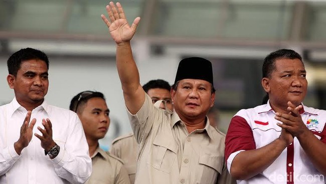 Prabowo Ungkap Isi Pertemuan dengan Sandiaga Kemarin