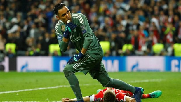 Real Madrid sering disebut masih sibuk mencari kiper baru meski mereka memiliki Keylor Navas.