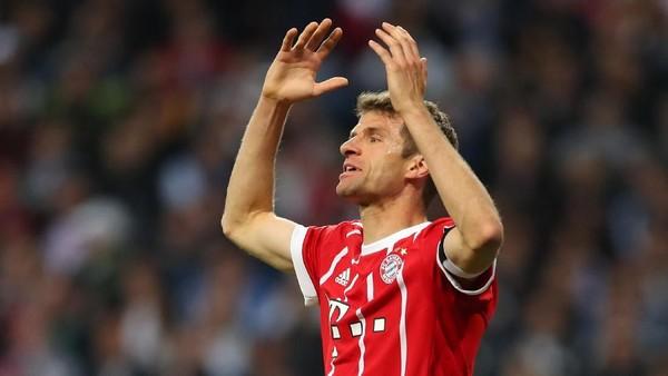 Mueller: Hasil Ini Menyakitkan, tapi Bayern Tak Seharusnya Malu