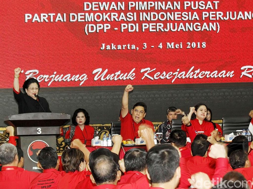 Megawati Buka Rapat Koordinasi PDIP