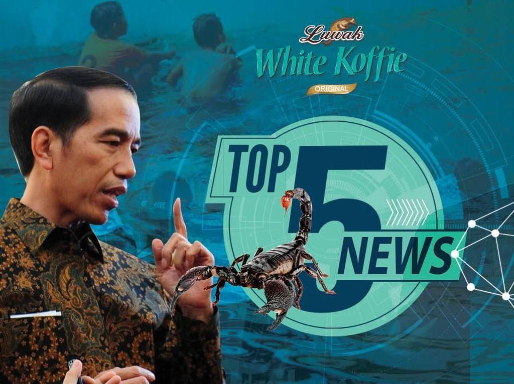 Cambridge Analytica Bangkrut, Jokowi Bicara Racun Kalajengking