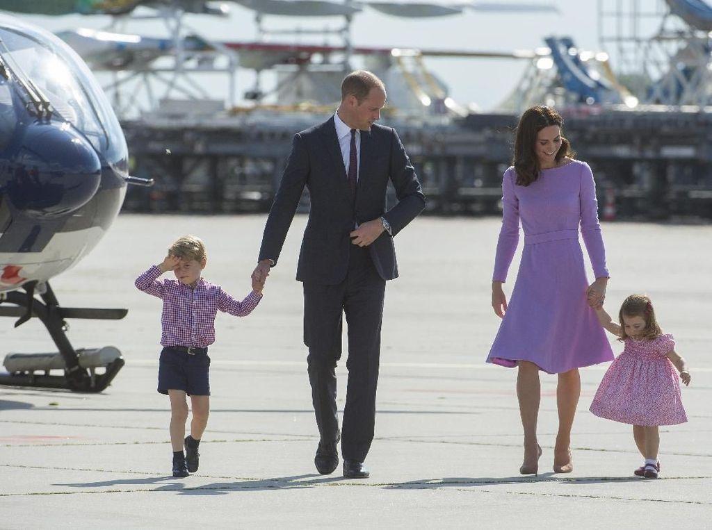 Ini Lho, 7 Hobi Pangeran George dan Putri Charlotte