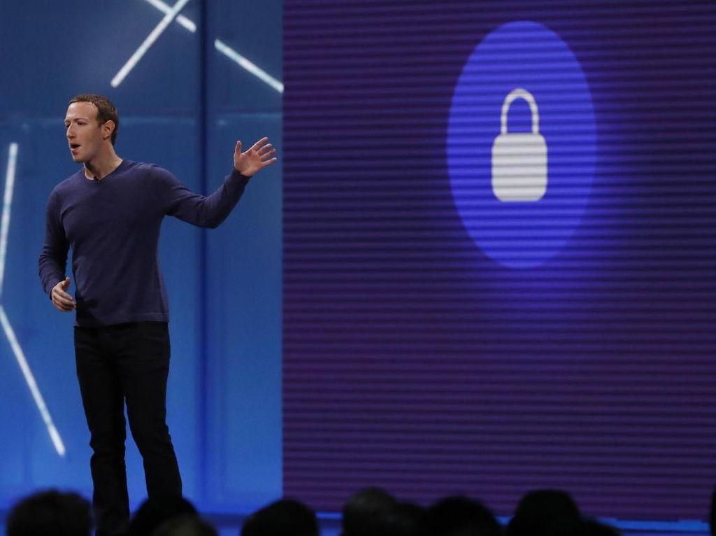 Mengintip Zuckerberg Berkaos Pukau Ribuan Developer