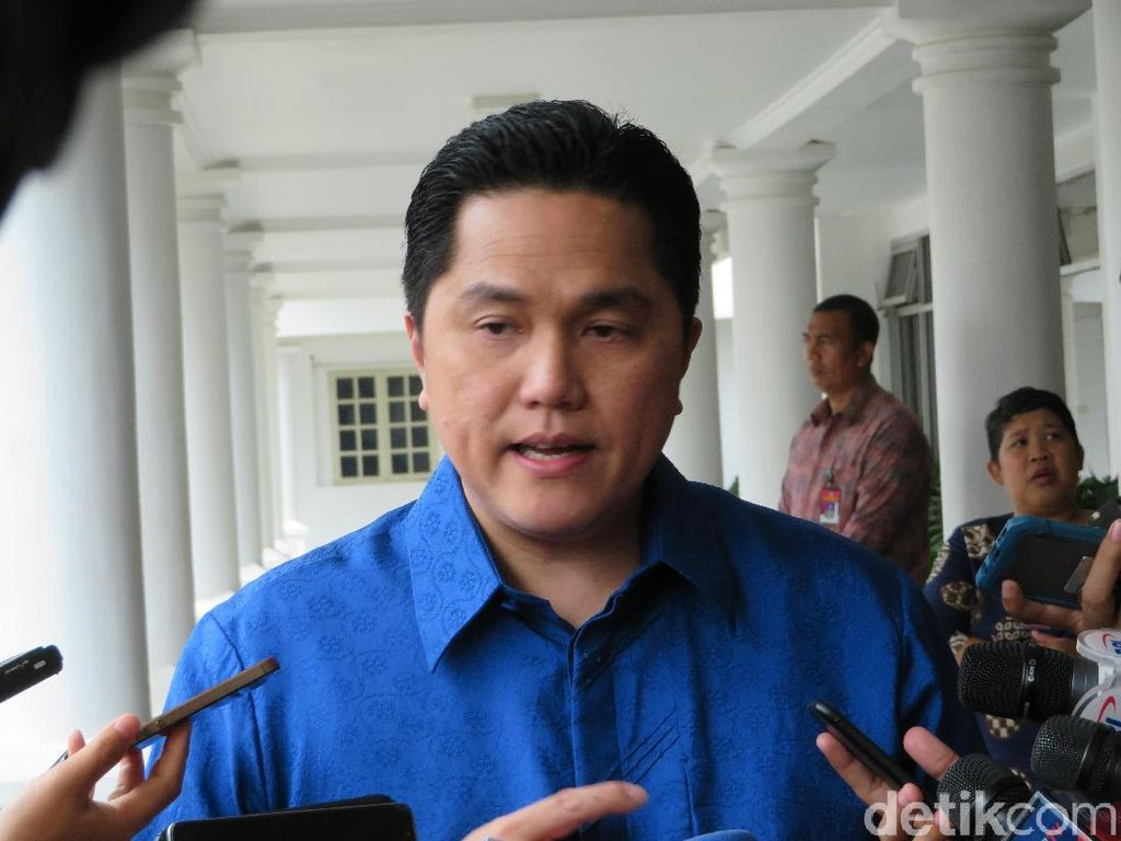 Erick Thohir Beri Tugas Berat ke Bos Baru PLN Zulkifli Zaini, Apa Saja?