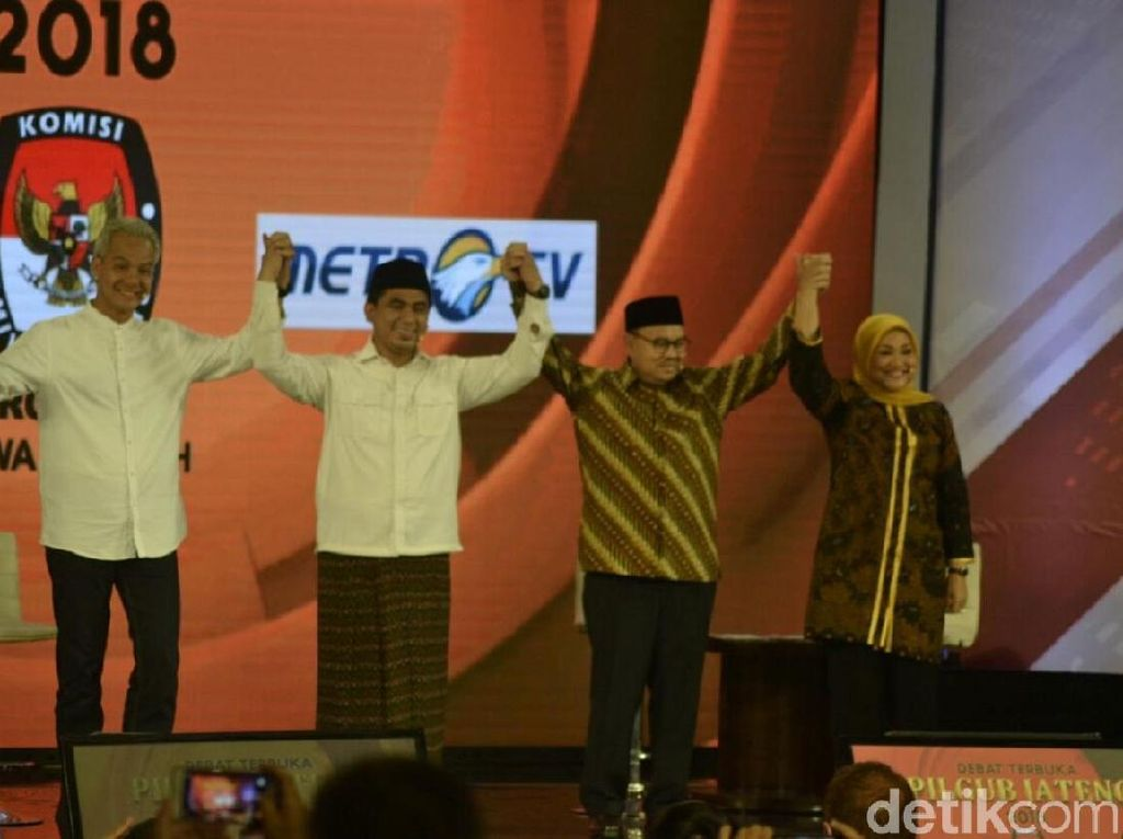 Pernyataan Penutup: Ganjar Kutip Sukarno, Ida Menjemput Takdir