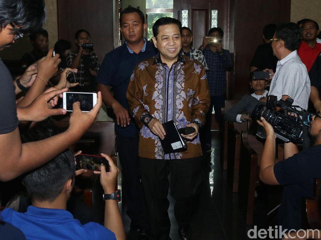 Novanto Tak Tahu Rekam Medisnya Dilihat Fredrich