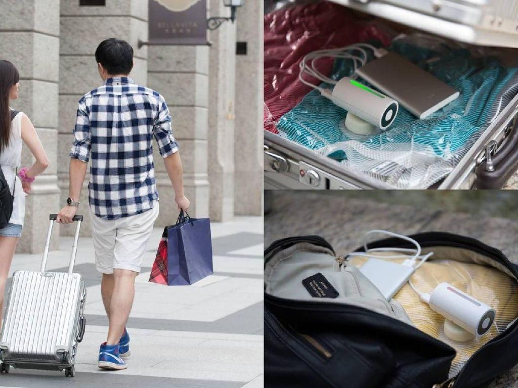 Perangkat Mungil Ini Bikin Isi Koper Traveler Jadi Lega