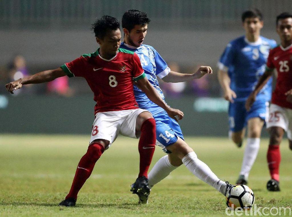 Indonesia Diimbangi Uzbekistan