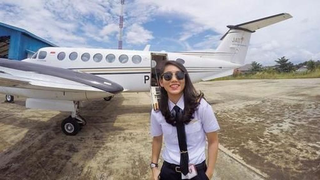 Terpikat 9 Pilot Cantik Indonesia, Siapa yang Ingin Terbang Bersamanya?