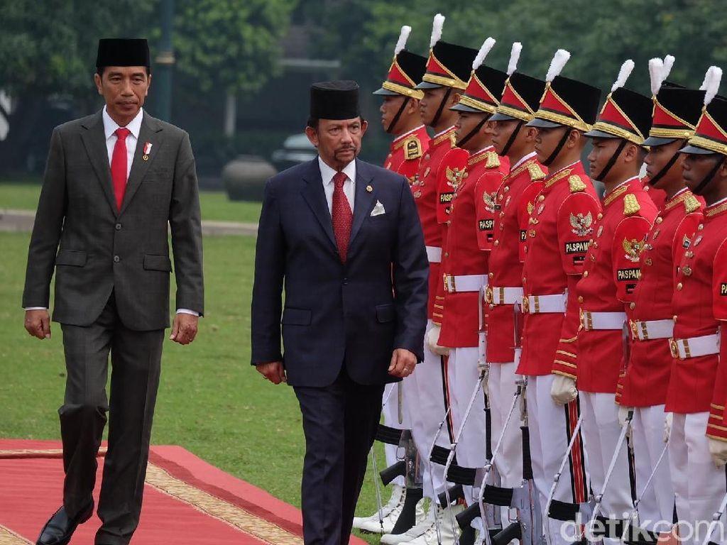 Sultan Bolkiah Berterima Kasih atas Kontribusi TKI untuk Brunei
