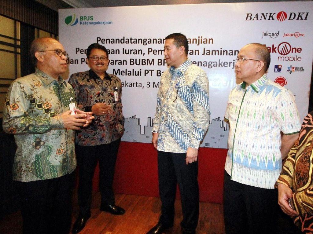BPJS Ketenagakerjaan Gandeng Bank DKI
