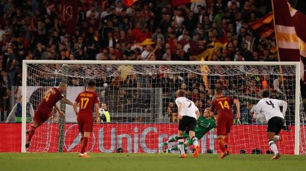 Liverpool dan Roma Pecahkan Rekor Gol 20 Tahun