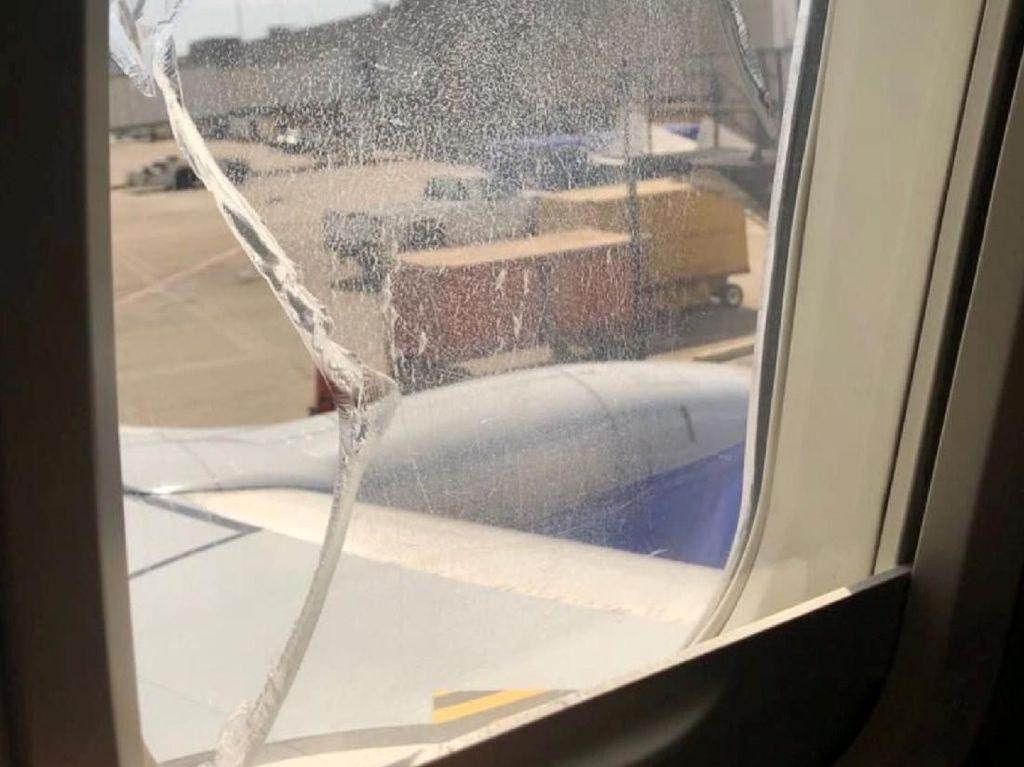 Kaca Jendela Retak, Southwest Airlines Mendarat Darurat di AS