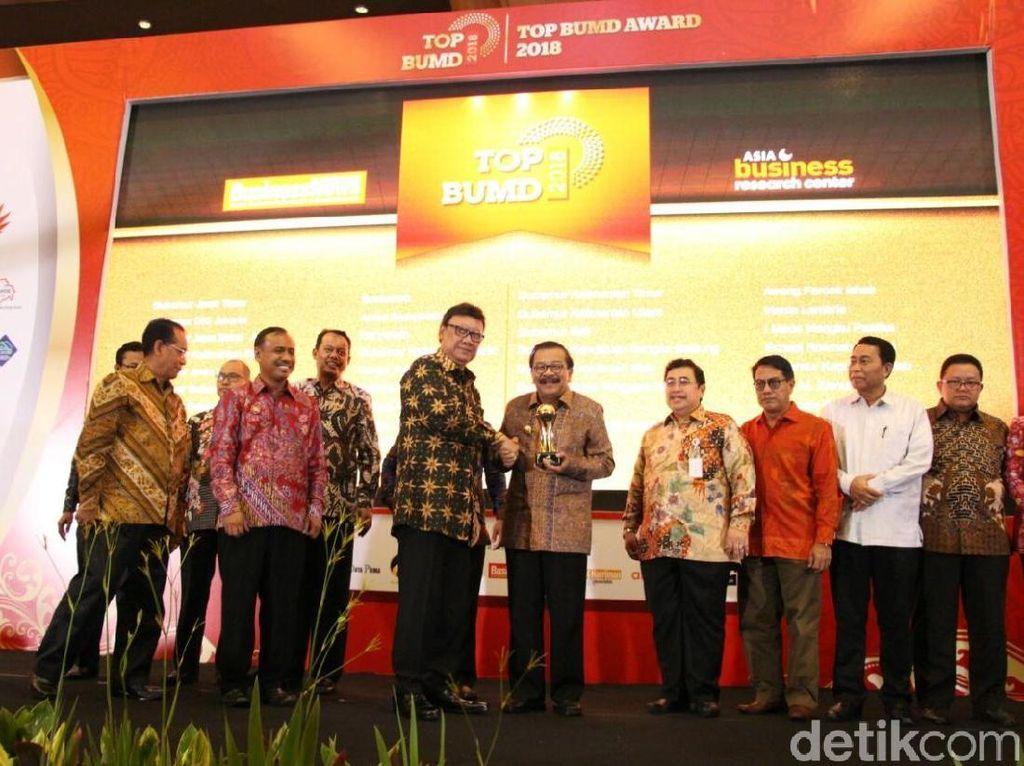 Bank Jatim Sabet 4 Penghargaan di TOP BUMD 2018