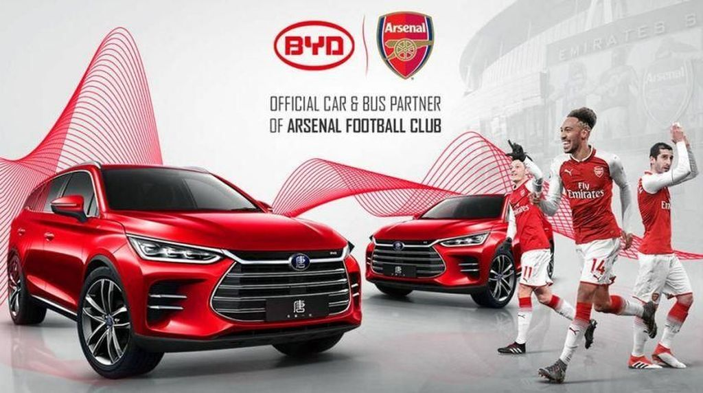 Bukan Merek Mewah, Pemain Arsenal Bakalan Pakai Mobil China