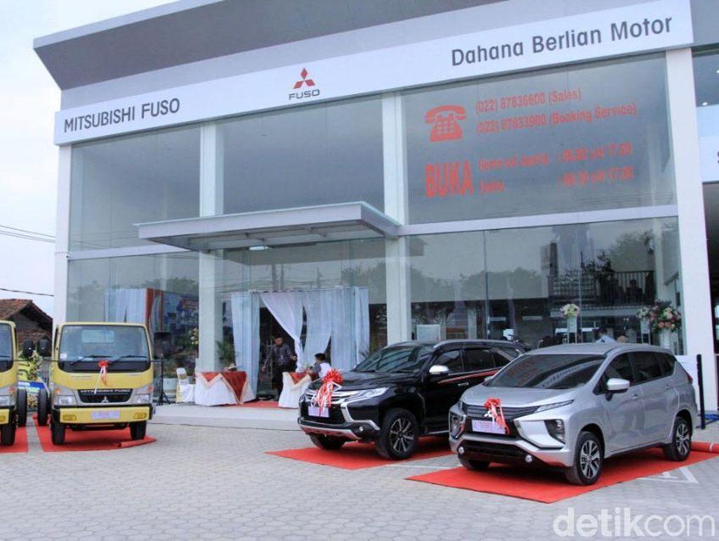 Mitsubishi Resmikan Diler di Bandung