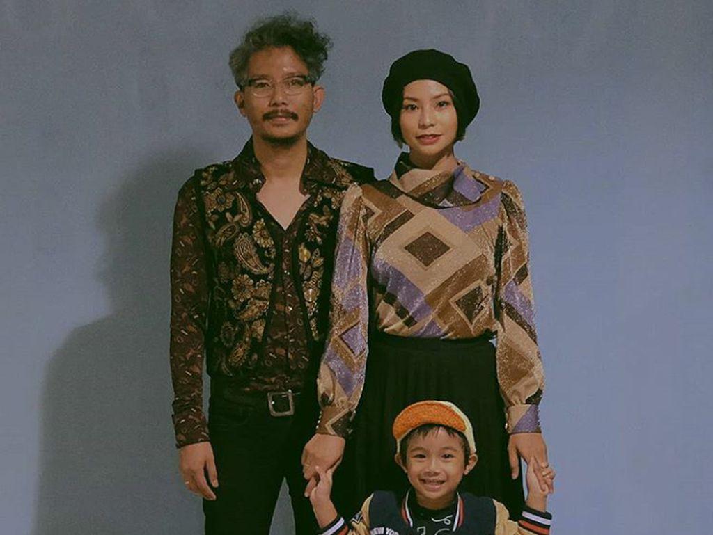 Keluarga Kalem Shareefa Daanish Rayakan HUT di Lokasi Syuting