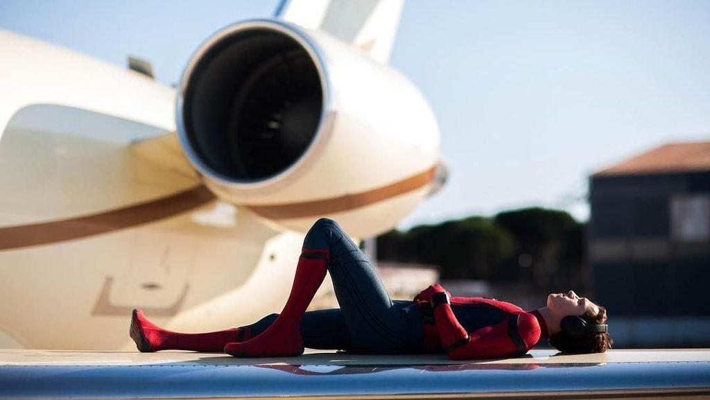 Foto: Spider-Man Keliling Dunia
