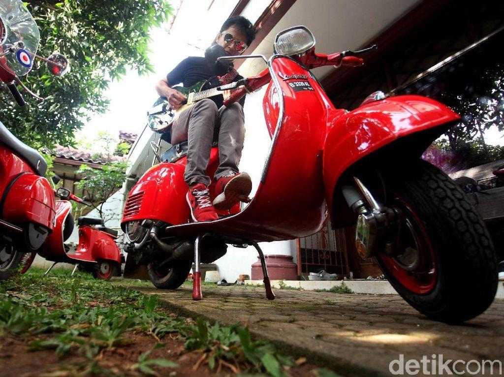 Langka! Motor Vespa Ini Ada 5 di Indonesia, Hanya 1 yang Sehat