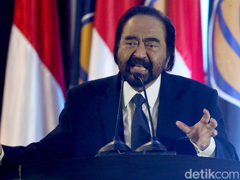Surya Paloh Berduka Ibunda Jokowi Wafat, Ikuti Saran Doakan dari Jauh