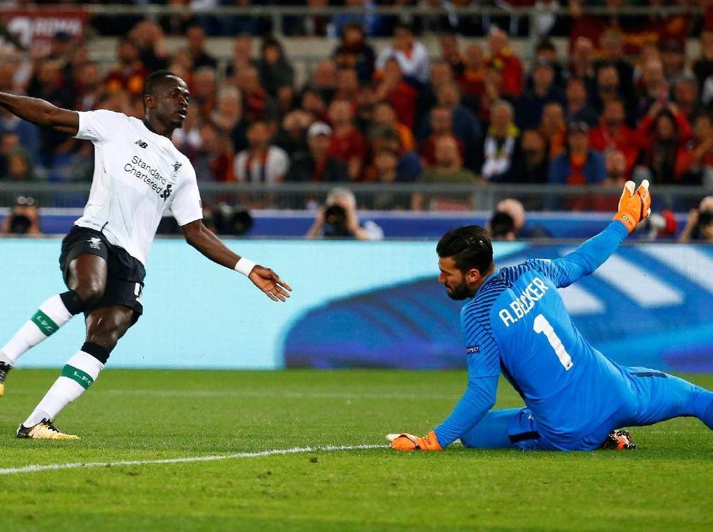 Serigala Roma Gagal Hentikan Laju Liverpool