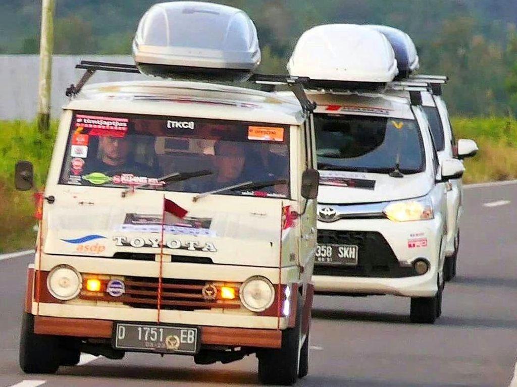 3 MPV Toyota Jelajahi Timor Leste