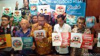 Relawan 'Jodoh' Deklarasikan Jokowi-Moeldoko ke Pilpres 2019