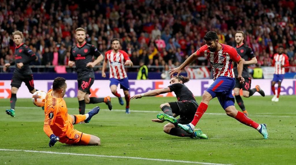 Video Gol Costa Bawa Atletico ke Final Liga Europa
