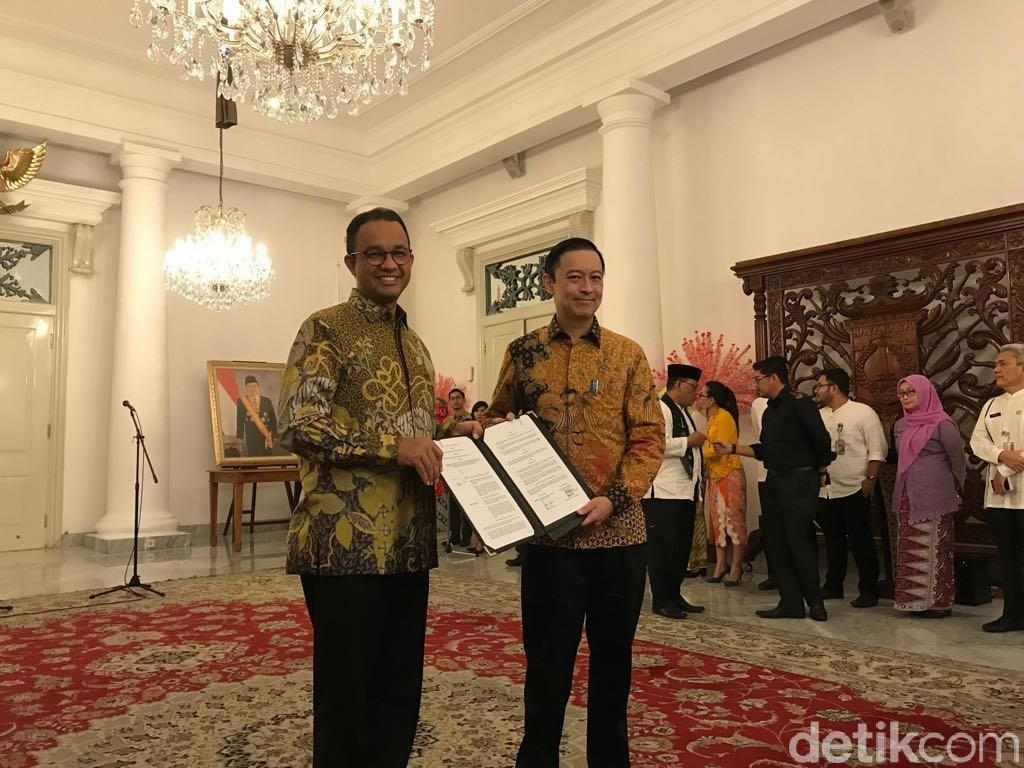 Permudah Izin Investasi e-Commerce di DKI, Anies Gandeng BKPM