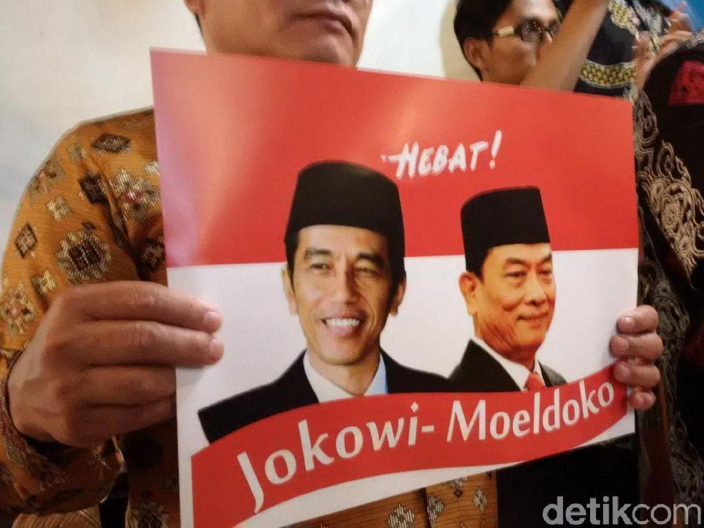 Relawan Jodoh Deklarasikan Jokowi-Moeldoko ke Pilpres 2019