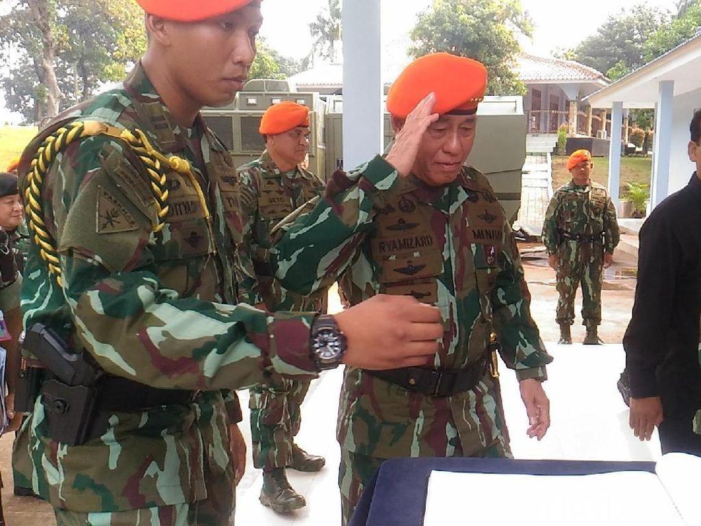 Menhan akan Cek Prajurit dan Alutsista TNI dari Aceh-Papua