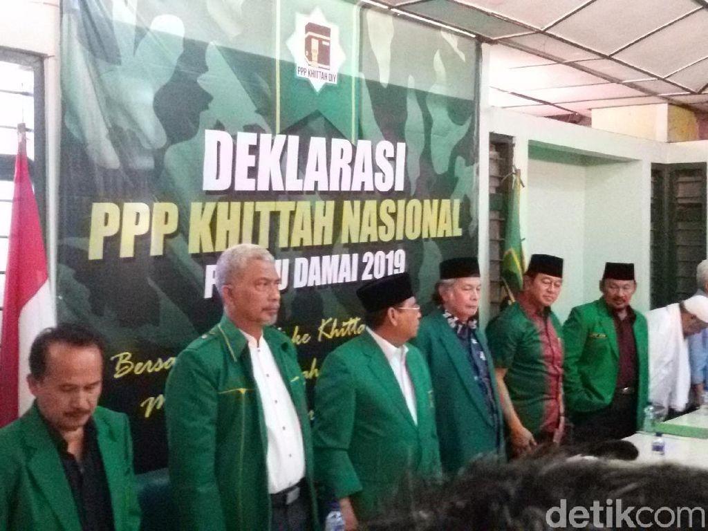 PPP KhittahNasional di Yogya Desak Romy dan Djan Faridz Taubat
