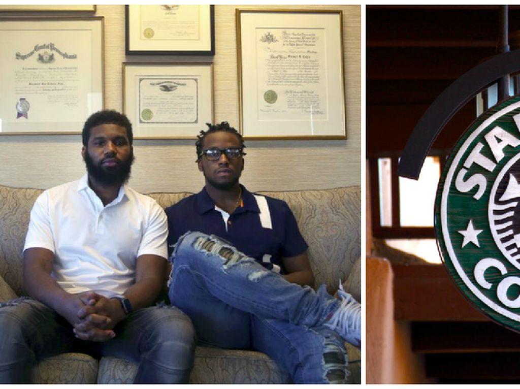 Dua Pria Korban Rasis di Starbucks Dapat Biaya Kuliah Gratis