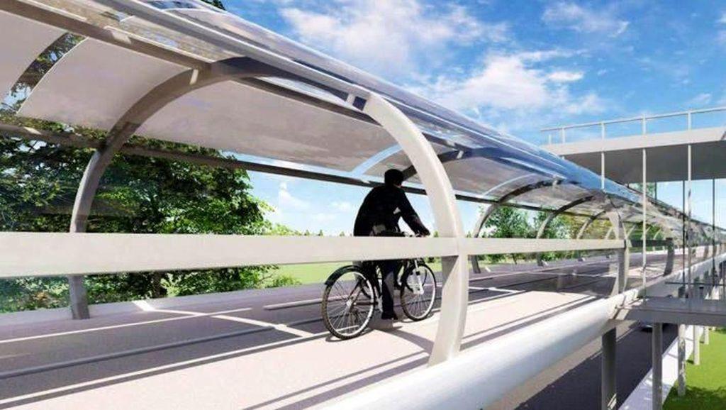 Bisa Nggak Ya Indonesia Punya Jalur Sepeda Kayak Begini?