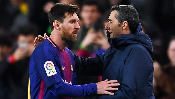 Usaha Messi dan Valverde Hindari Torehan-Torehan Tak Diinginkan