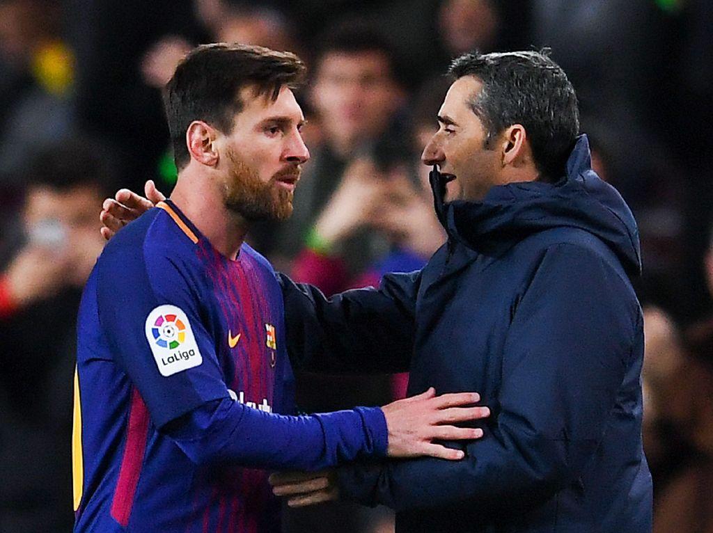Messi Beri Salam Perpisahan dan Doa untuk Valverde