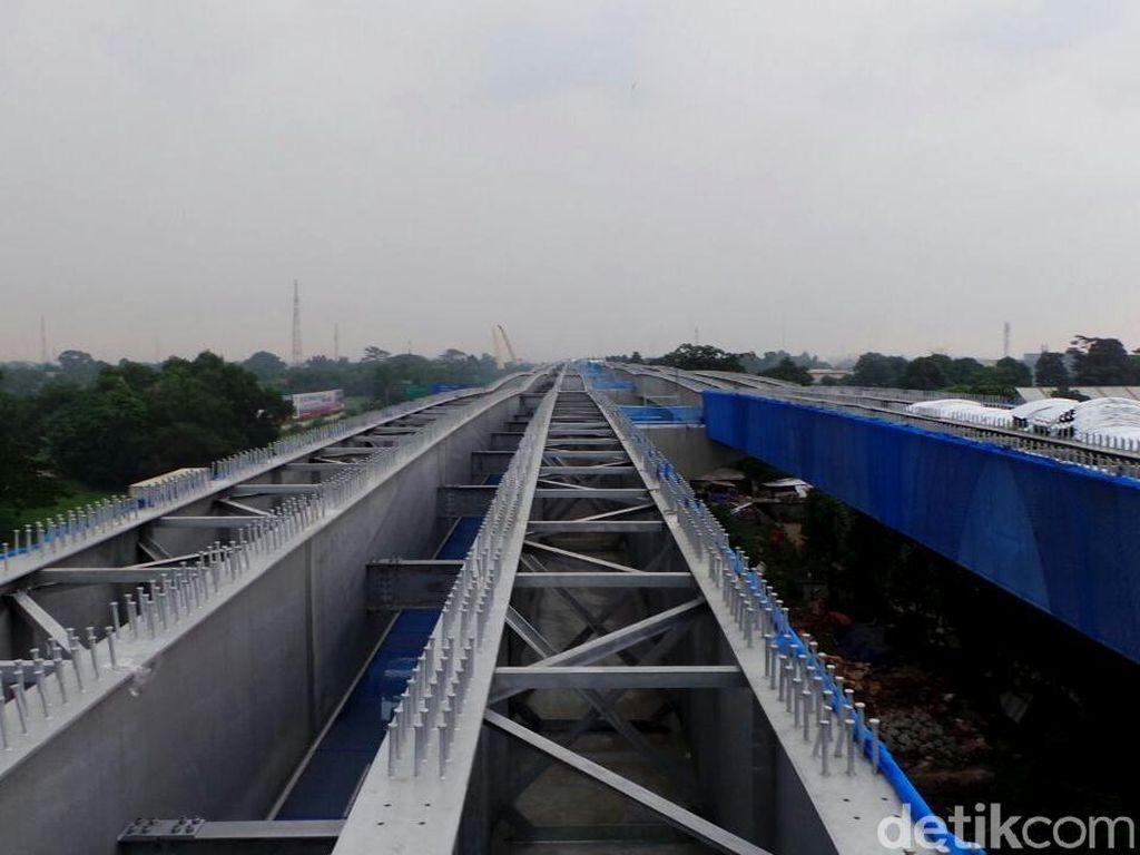 Tol Layang Jakarta-Cikampek Capai 30%