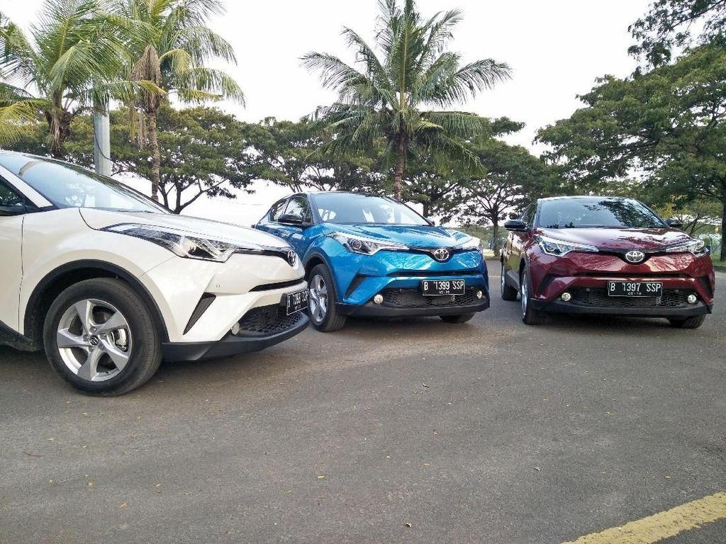 Toyota Bawa C-HR ke Indonesia Bukan untuk Tantang Honda HR-V