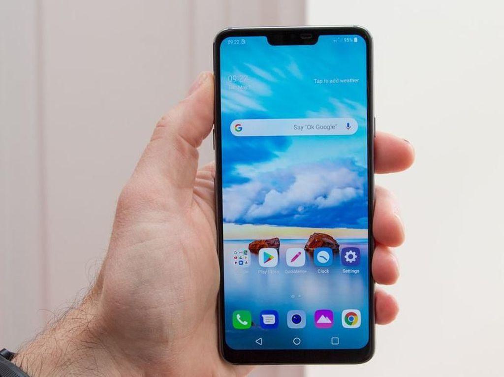 Penampakan LG G7 ThinQ, Android Jagoan Mirip iPhone X