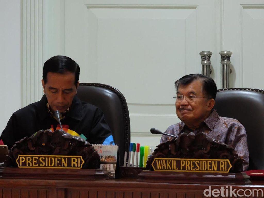 Bahas Pemindahan Ibu Kota, Jokowi: Gagasannya Sejak Presiden Sukarno