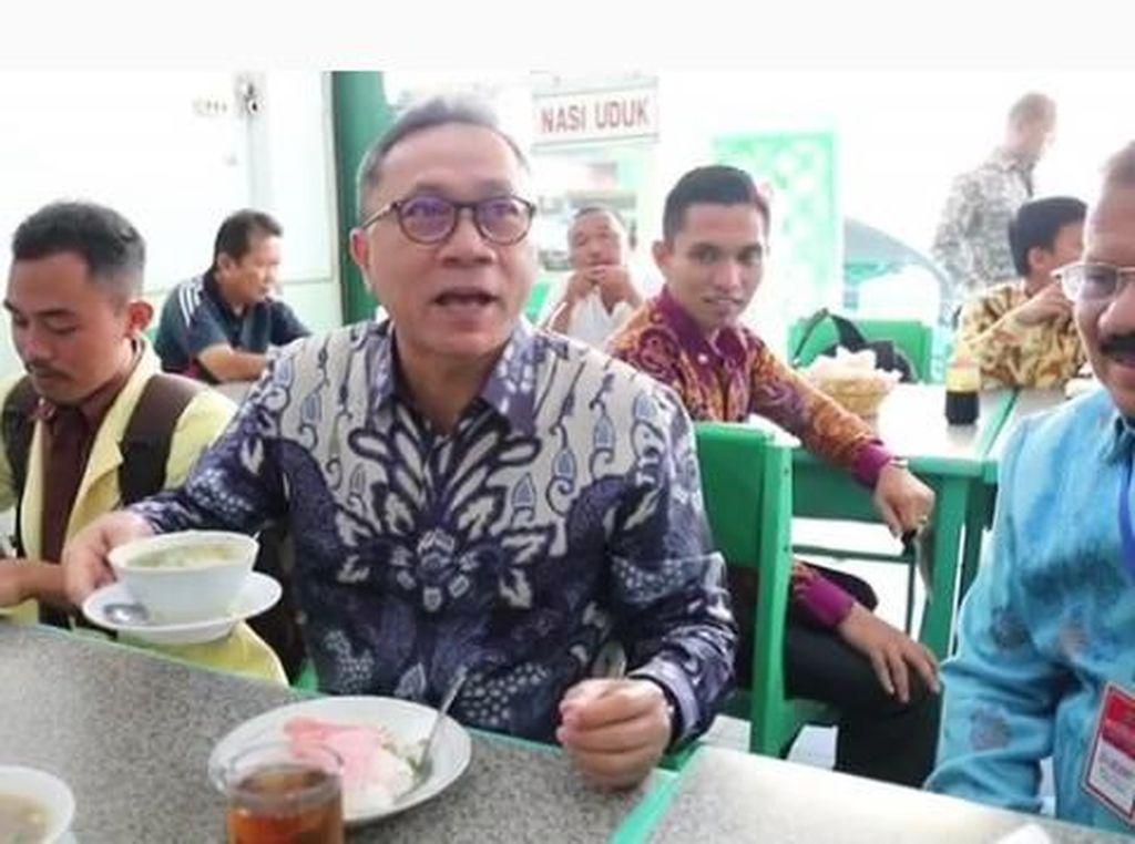 Intip 10 Gaya Kulineran Ketua MPR RI, Zulkifli Hasan