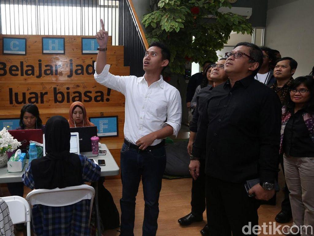 PDIP Dukung Kreatifitas Startup Pendidikan Ruang Guru