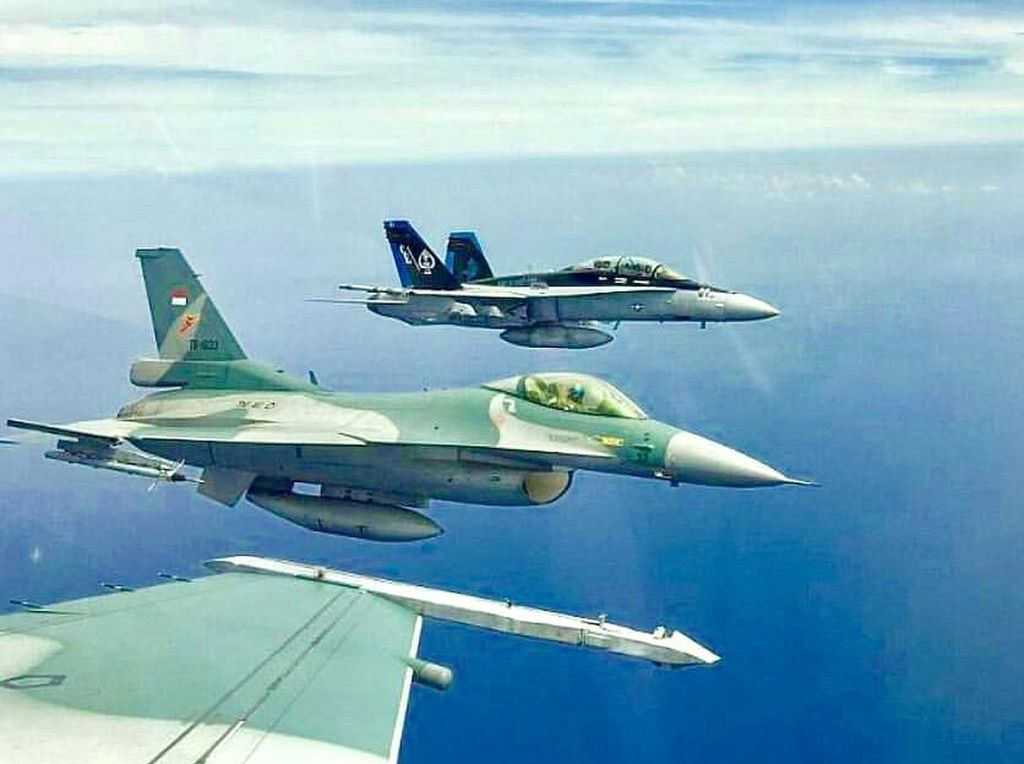 TNI AU: FIR RI-Singapura Tak Cuma soal Penerbangan tapi Kedaulatan Indonesia