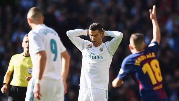 Sedang Seret Gol Lawan Barca, Bisakah Ronaldo Samai Di Stefano?