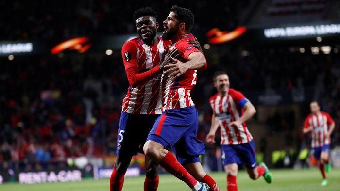 Atletico Madrid dijagokan jadi juara Liga Europa 2017/2018 (Juan Medina/Reuters)